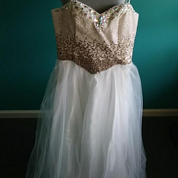 Masquerade Dresses Plus Size Special Occasion Sequins Dress Poshmark